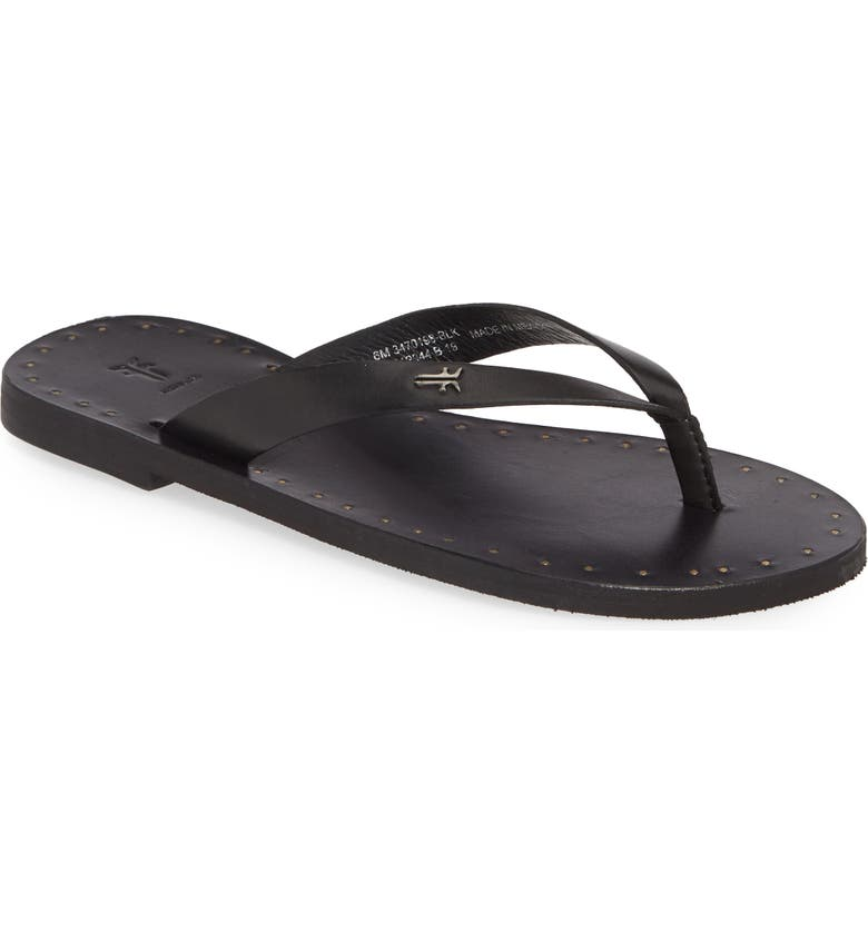 FRYE Azalea Flip Flop, Main, color, 001