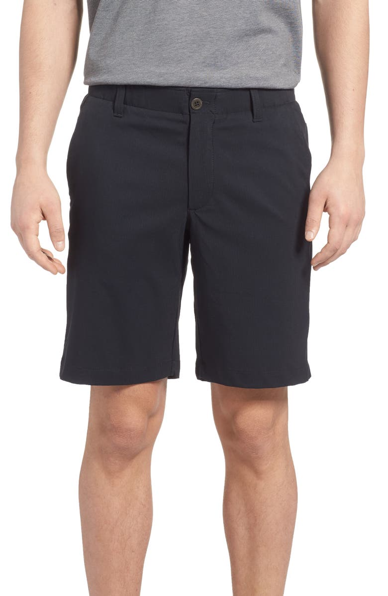 UNDER ARMOUR Takeover Regular Fit Golf Shorts, Main, color, 001