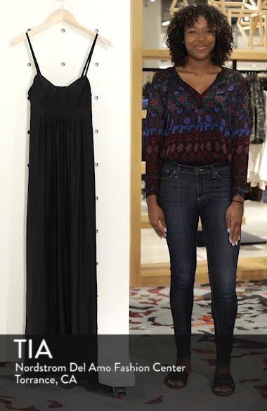 Colby Woven Maxi Dress, sales video thumbnail