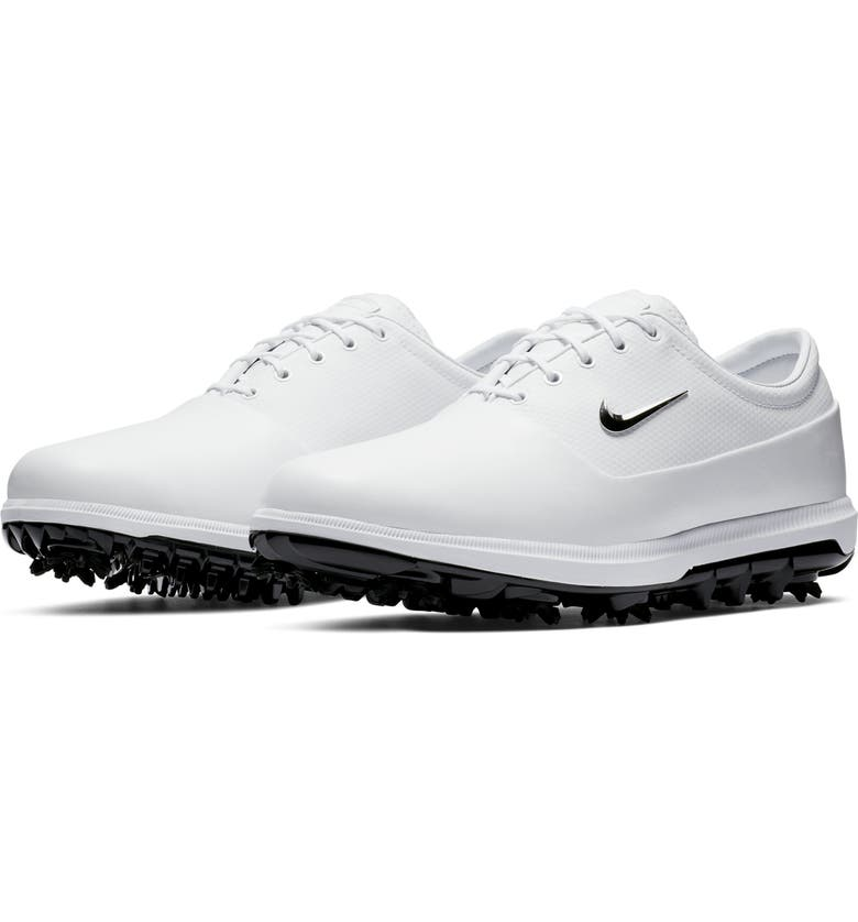 NIKE Air Zoom Victory Tour Waterproof Golf Shoe, Main, color, WHITE/ PLATINUM/ GREY/ CHROME