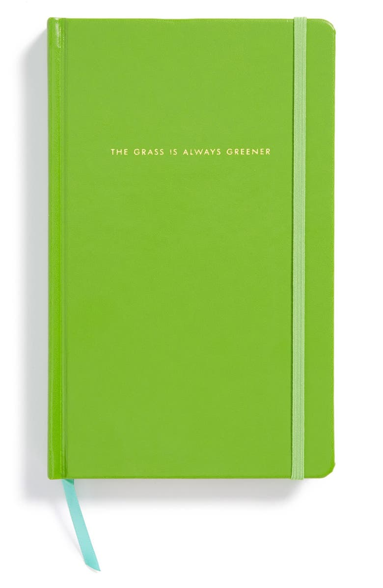KATE SPADE NEW YORK hardcover notebook, Main, color, Green