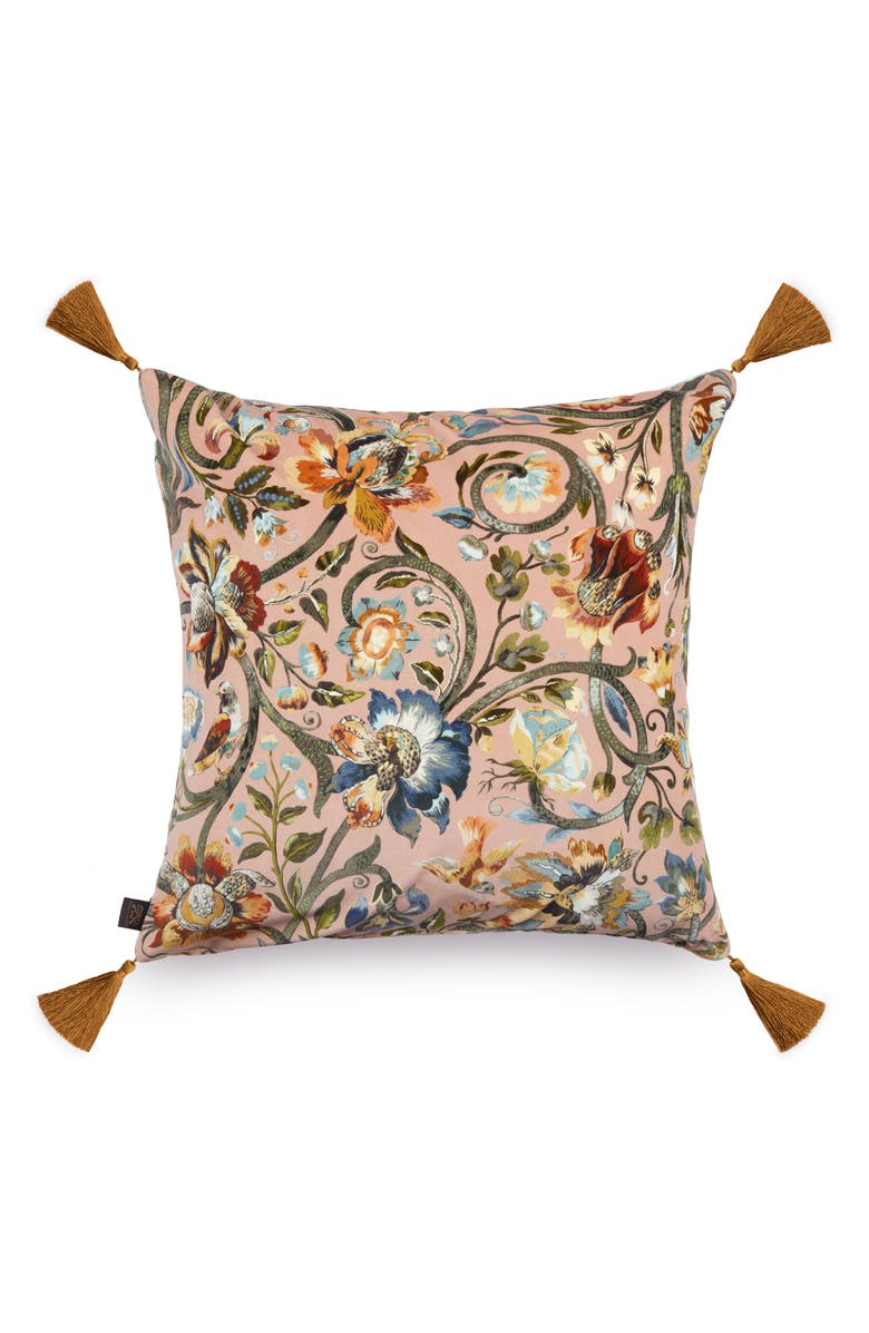 HOUSE OF HACKNEY Gaia Velveteen Accent Pillow, Main, color, 650