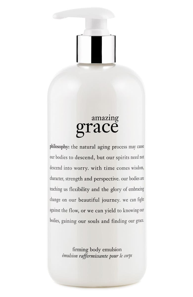PHILOSOPHY 'amazing grace' firming body emulsion, Main, color, 000