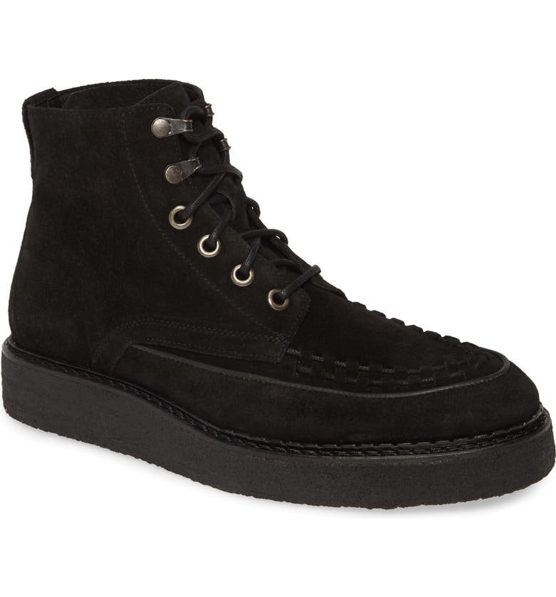 ALLSAINTS Defoe Moc Toe Boot, Main, color, 020
