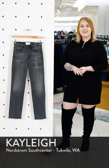 Le High Straight Crop Jeans, sales video thumbnail