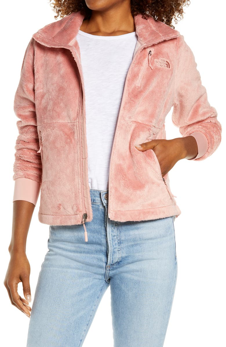 THE NORTH FACE Osito Flow Fleece Jacket, Main, color, ROSE TAN