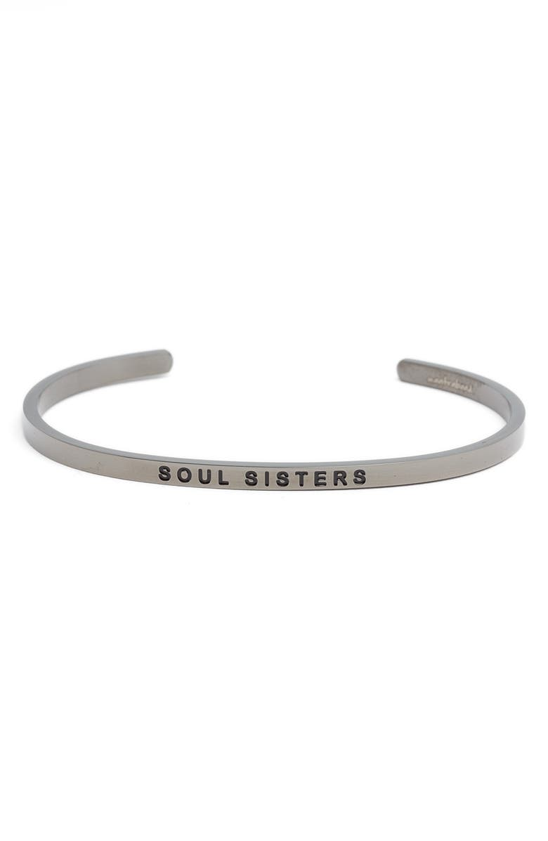MANTRABAND<SUP>®</SUP> 'Soul Sister' Cuff, Main, color, 027