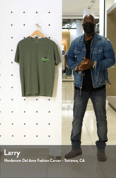 Men's Our National Parks Pocket Graphic Tee, sales video thumbnail