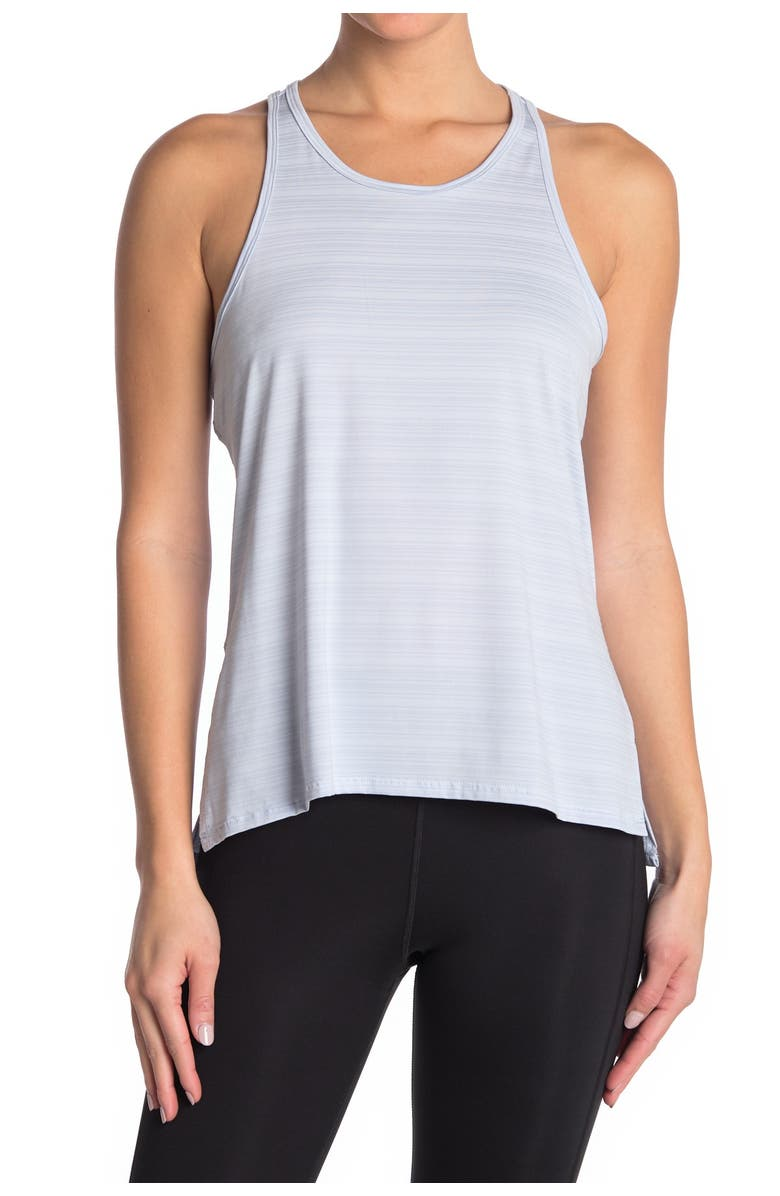 Z BY ZELLA Sakara Performance Tank Top, Main, color, BLUE FEATHER