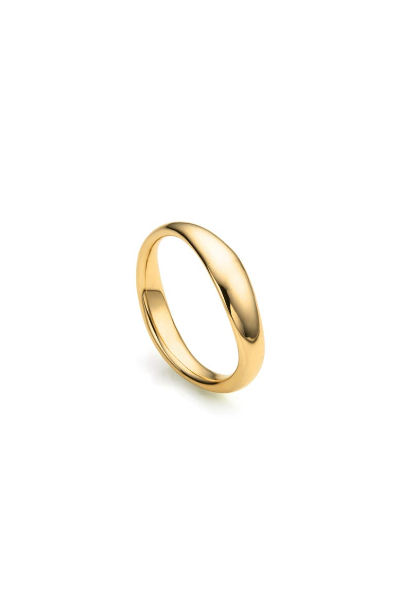 MONICA VINADER Nura Reef Stacking Ring, Main, color, YELLOW GOLD