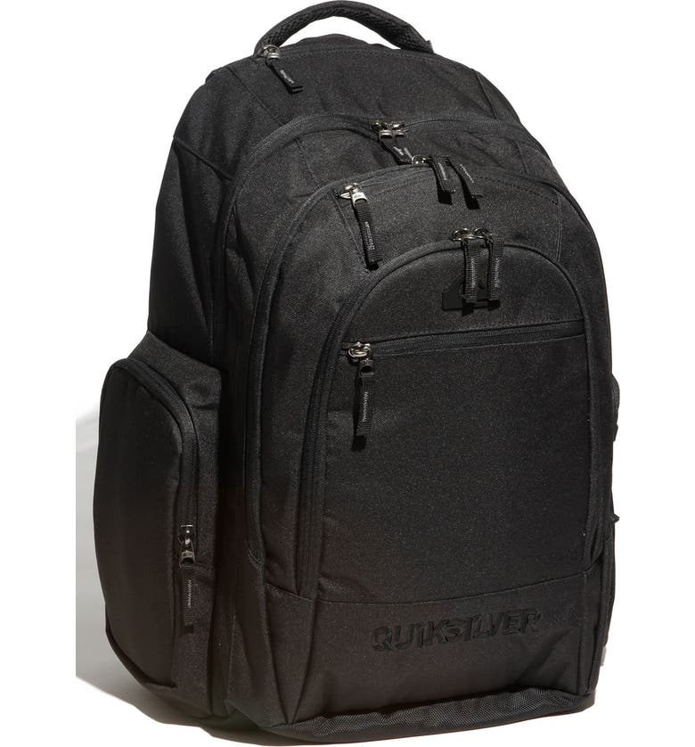 QUIKSILVER 'Daddy' Day Bag, Main, color, Black