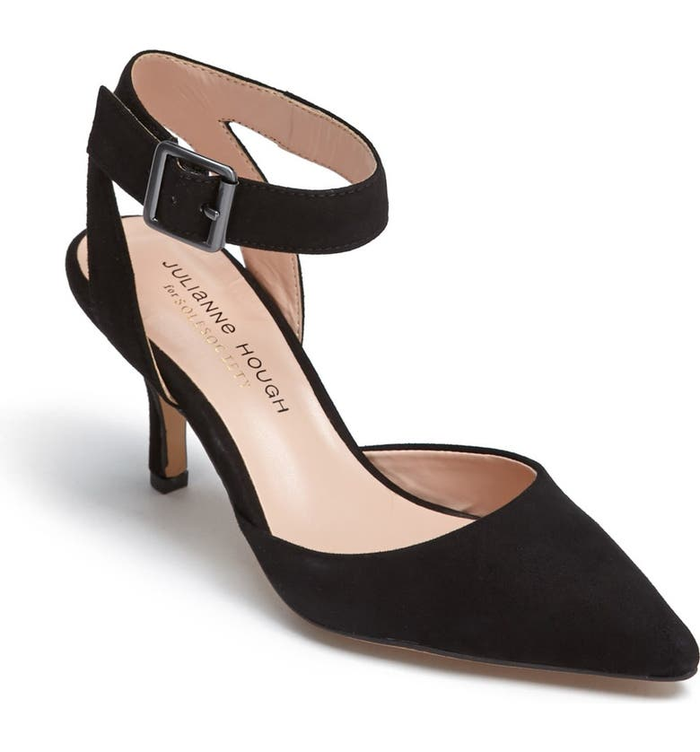 SOLE SOCIETY Julianne Hough for Sole Society 'Olyvia' Pointed Toe Pump, Main, color, 001