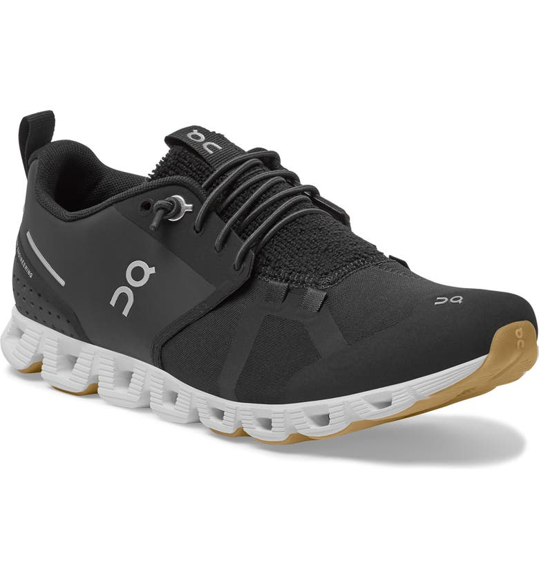 ON Cloudterry Sneaker, Main, color, BLACK/ WHITE