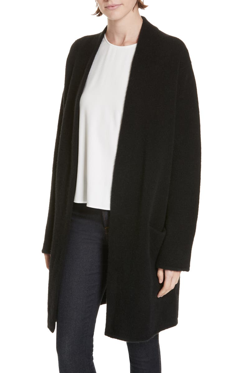 JENNI KAYNE Open Sweater Coat, Main, color, 001