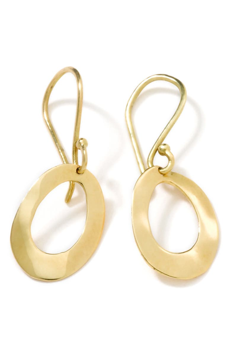 IPPOLITA Classico Mini Wavy Oval Hoop Earrings, Main, color, 710