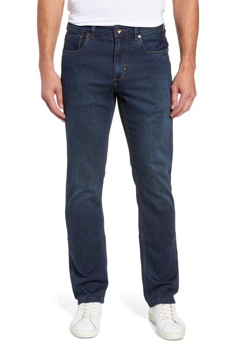 TOMMY BAHAMA Jeans, Main, color, DK INDIGO WASH