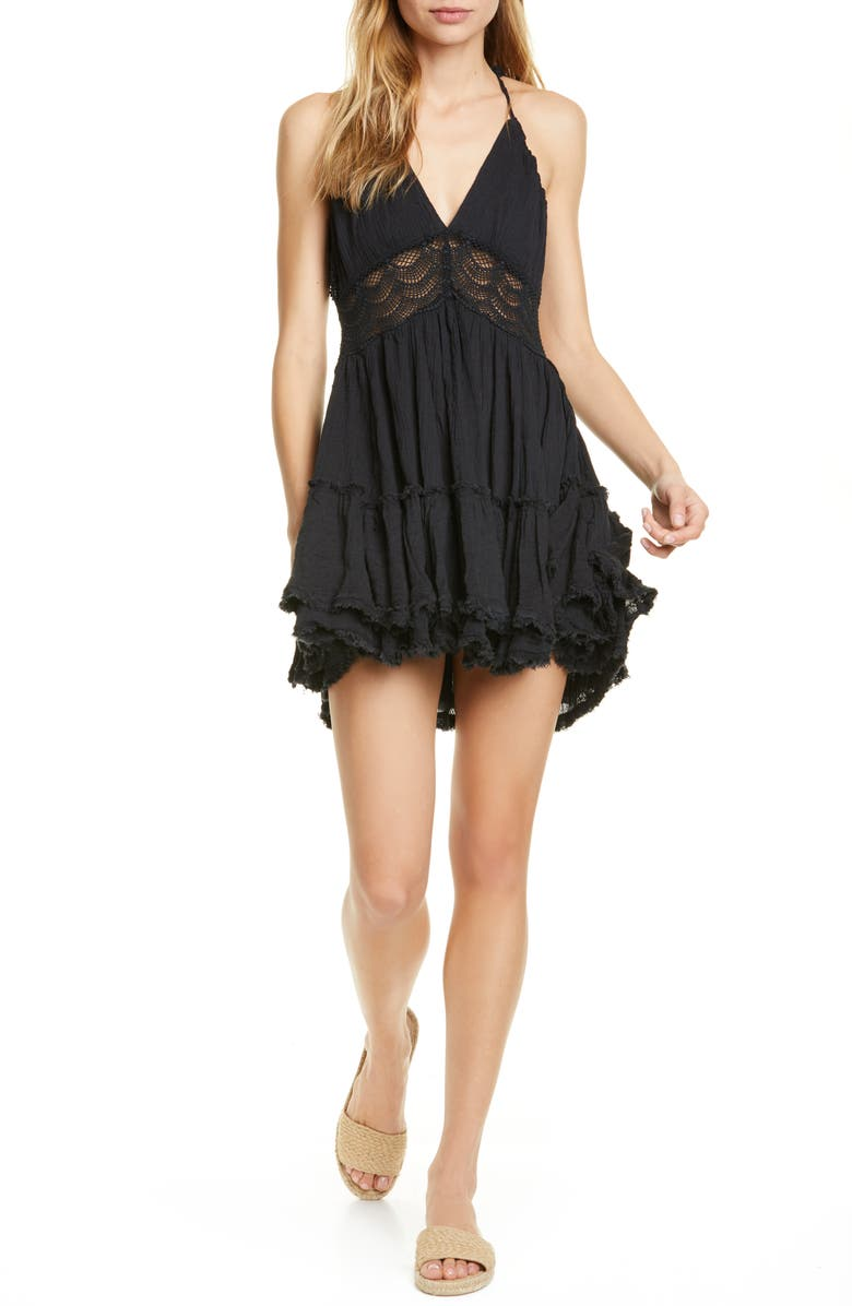 FREE PEOPLE Endless Summer by Free People 200 Degree Minidress, Main, color, 001
