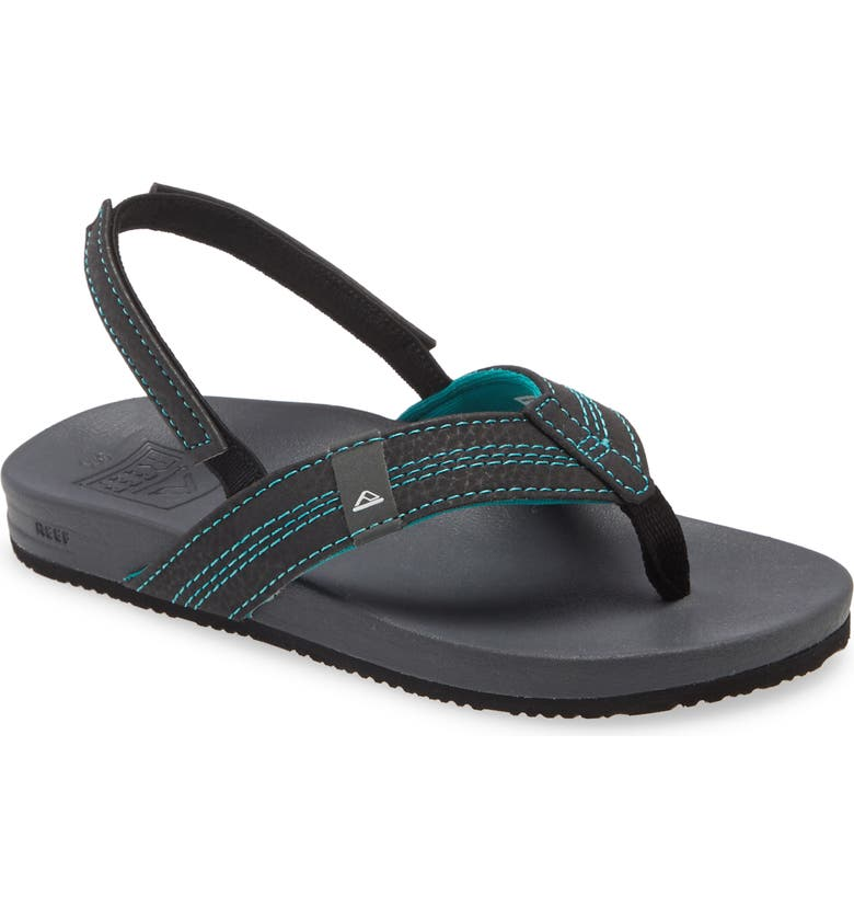 REEF Little Cushion Bounce Sandal, Main, color, 001