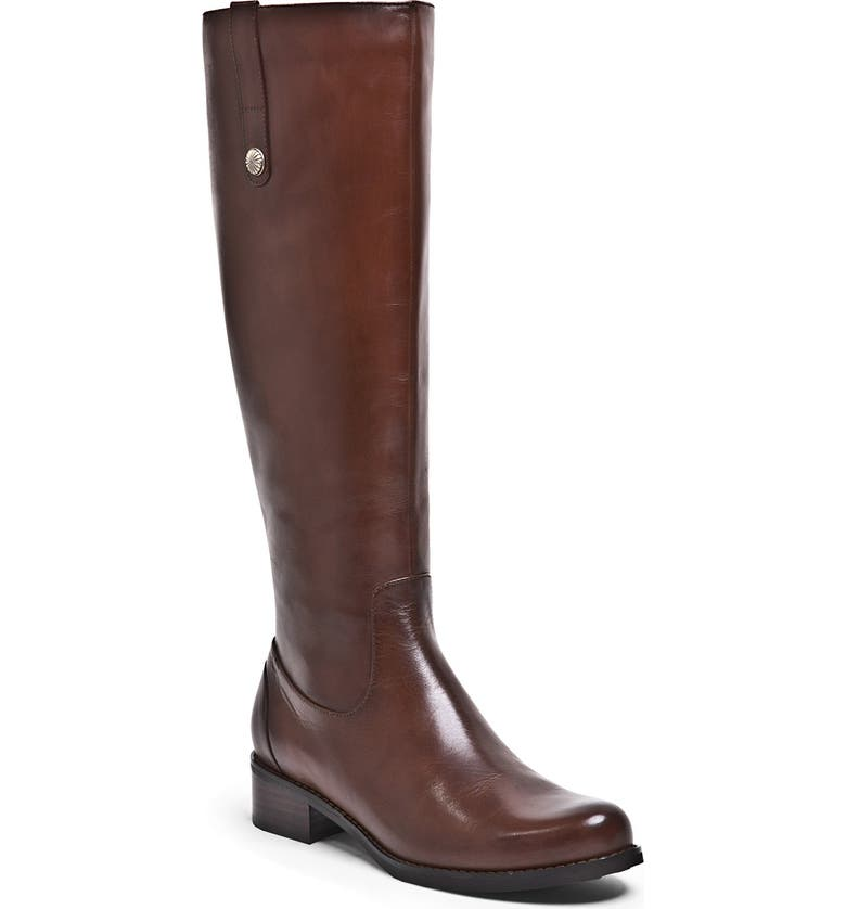 BLONDO 'Victorina' Waterproof Leather Riding Boot, Main, color, BUTTERSCOTCH LEATHER