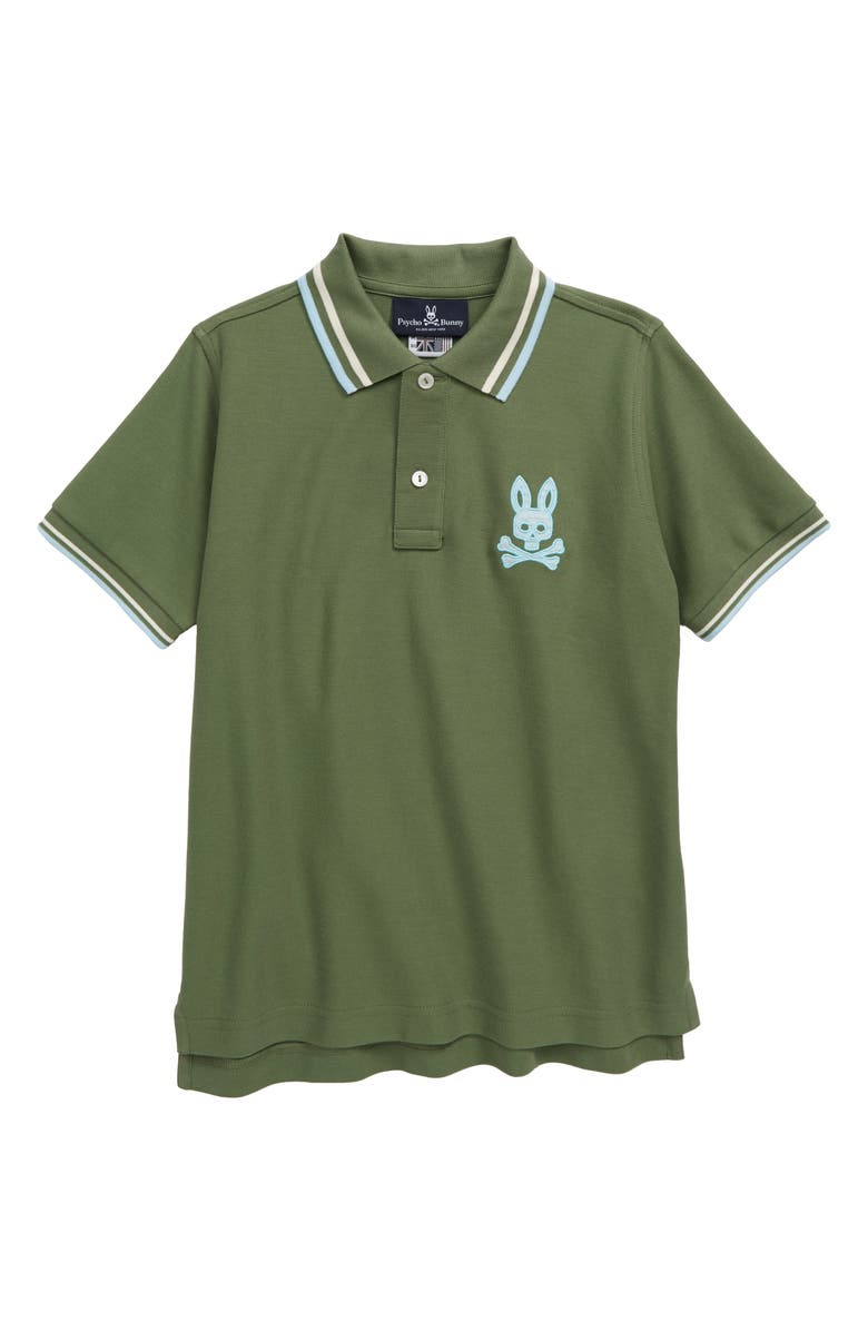 PSYCHO BUNNY Underwood Polo, Main, color, 382