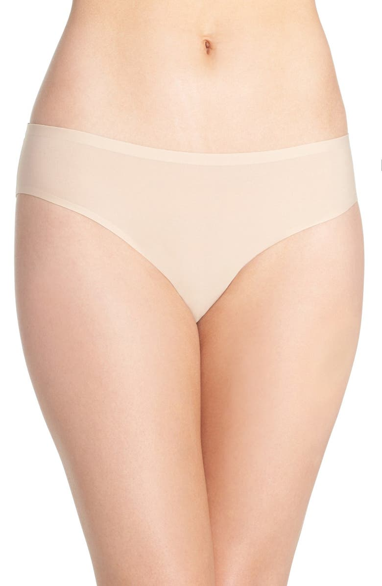 CHANTELLE LINGERIE Soft Stretch Bikini, Main, color, ULTRA NUDE