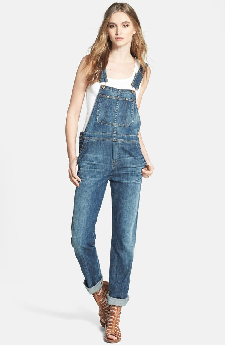 CITIZENS OF HUMANITY 'Drama Quincey' Overalls, Main, color, MEDIUM BLUE