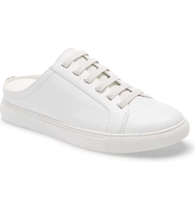 KENNETH COLE NEW YORK Mule Sneaker, Main, color, WHITE LEATHER