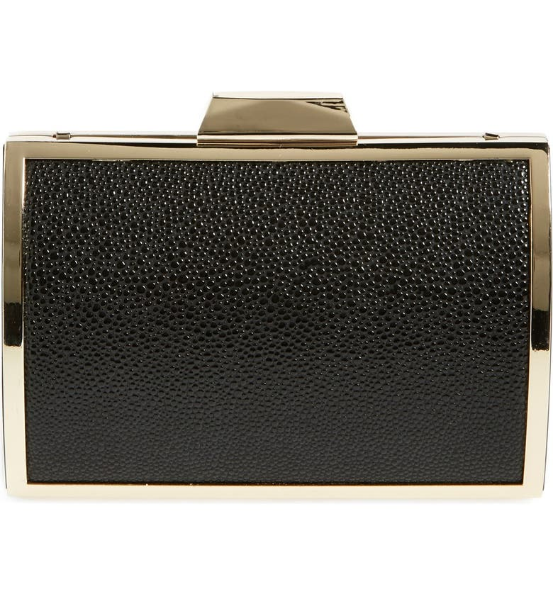 GLINT Embossed Minaudiere, Main, color, 001
