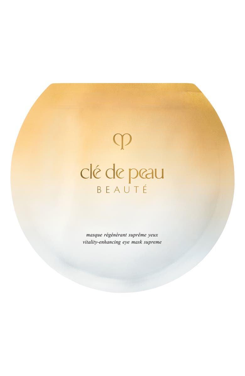 CLÉ DE PEAU BEAUTÉ Vitality Enhancing Eye Mask Supreme, Main, color, NO COLOR