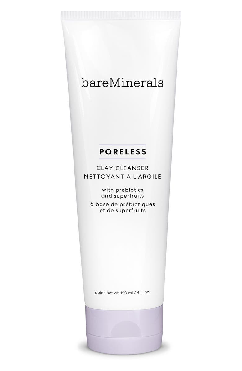 BAREMINERALS<SUP>®</SUP> Poreless Clay Cleanser, Main, color, NO COLOR