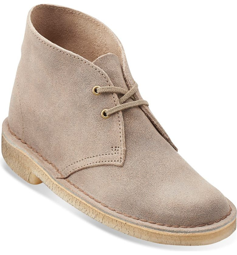 CLARKS<SUP>®</SUP> ORIGINALS Desert Boot, Main, color, TAUPE DISTRESSED SUEDE