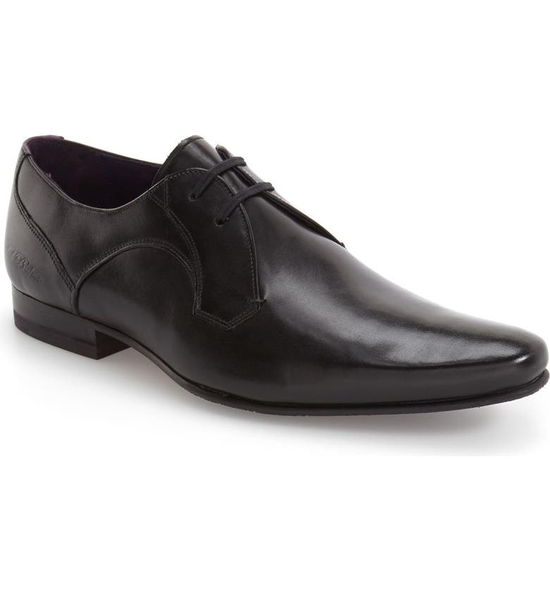 TED BAKER LONDON 'Martt 2' Plain Toe Derby, Main, color, 001