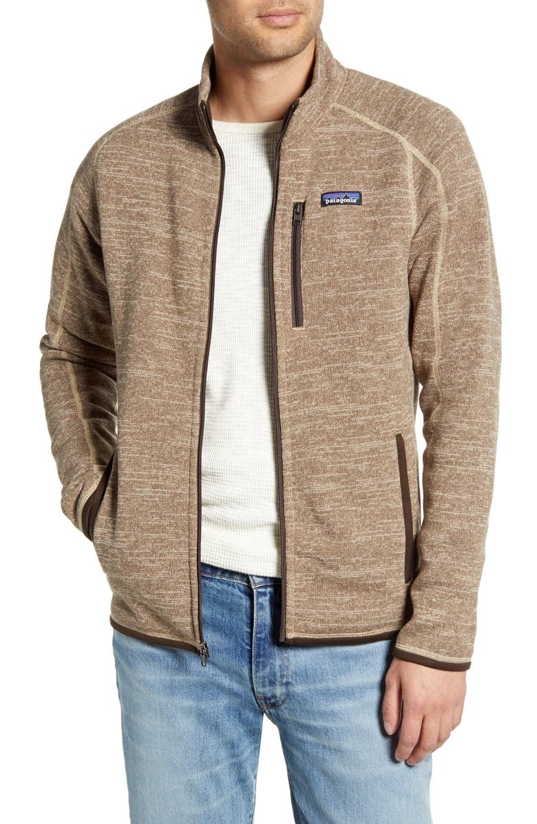 PATAGONIA Better Sweater<sup>®</sup> Zip Jacket, Main, color, PALE KHAKI