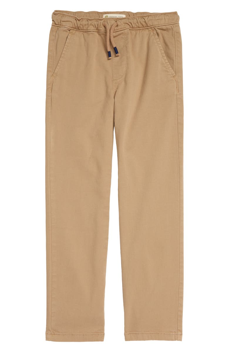 TUCKER + TATE Kids' All Day Relaxed Pants, Main, color, TAN STOCK