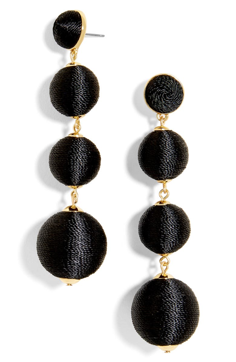 BAUBLEBAR Criselda Ball Shoulder Duster Earrings, Main, color, 001