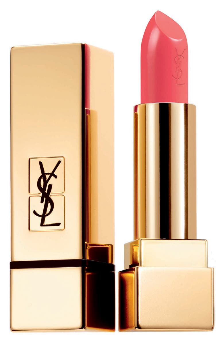 YVES SAINT LAURENT Rouge Pur Couture Satin Lipstick, Main, color, 52 ROUGE ROSE