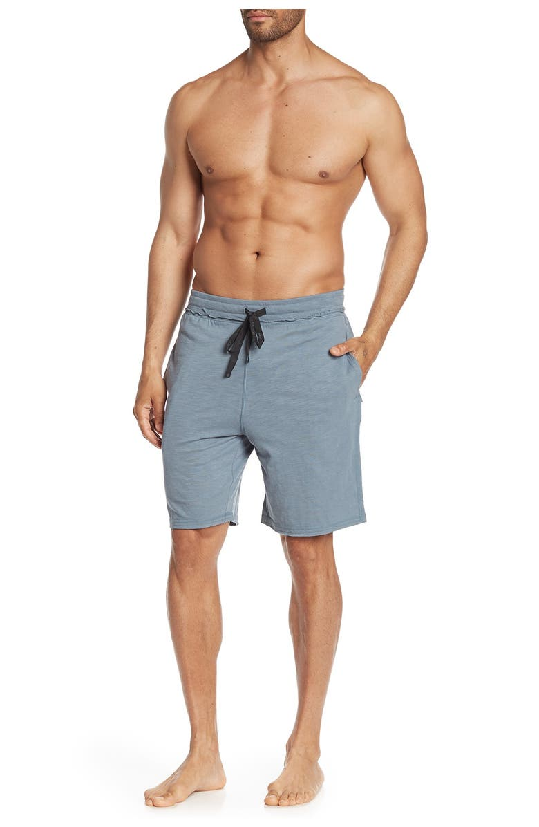 JOES Solid Lounge Shorts, Main, color, BLUE MIRAG