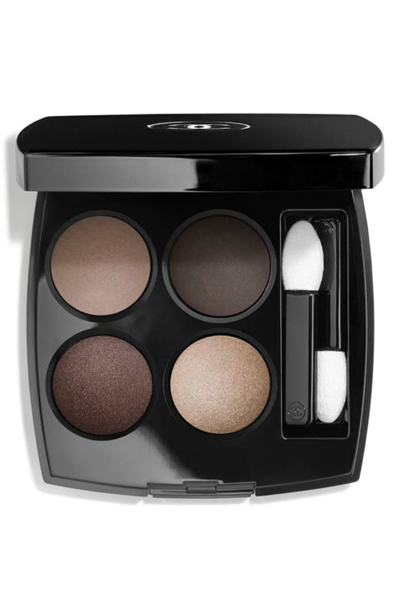 CHANEL LES 4 OMBRES <br />Multi-Effect Quadra Eyeshadow, Main, color, 322 BLURRY GREY