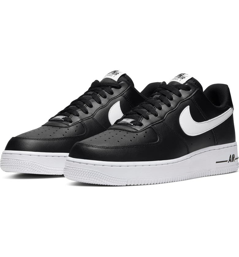 NIKE Air Force 1 '07 AN20 Sneaker, Main, color, BLACK/ WHITE