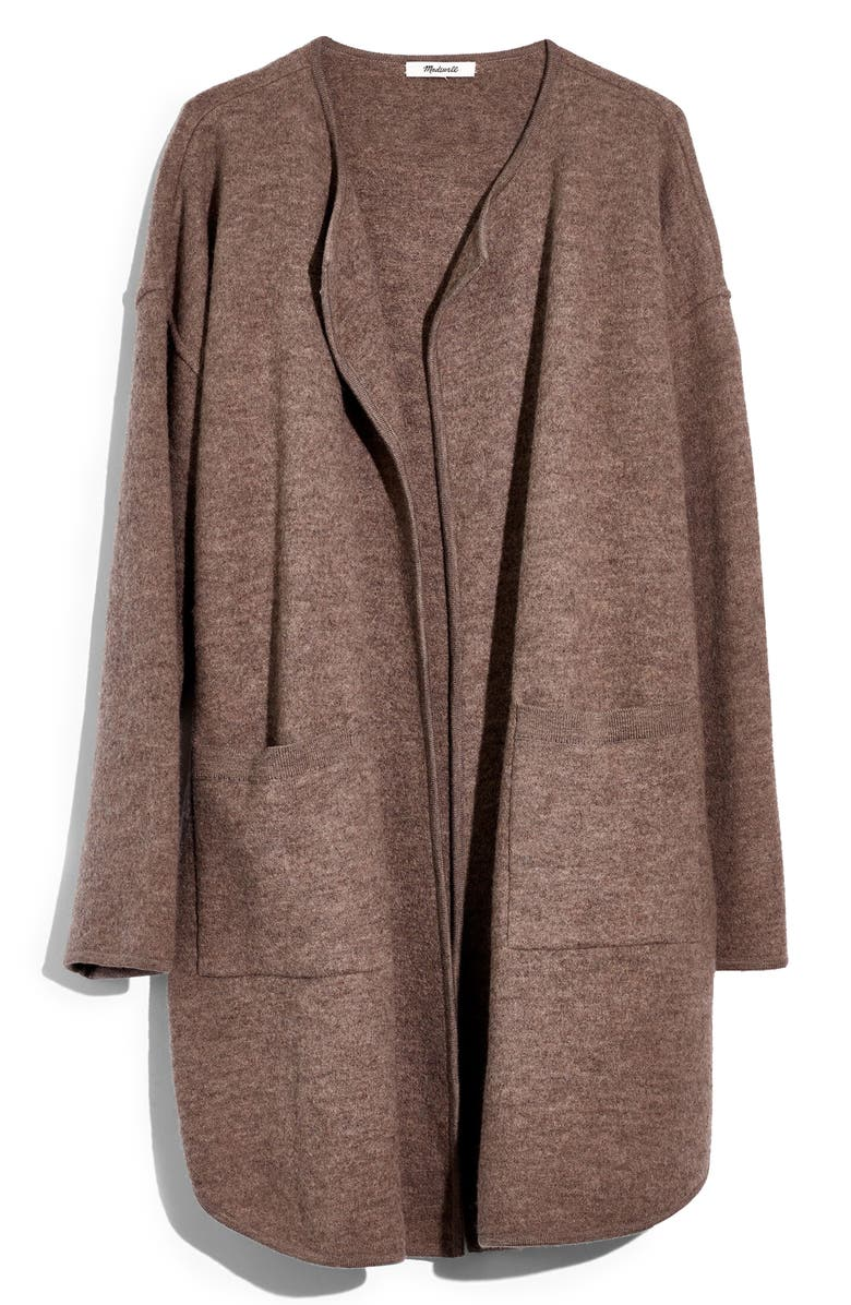 MADEWELL Minetta Sweater Coat, Main, color, 230