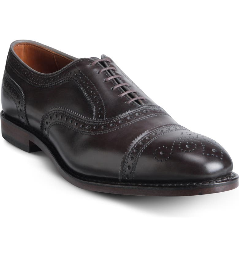 ALLEN EDMONDS Strand Cap Toe Oxford, Main, color, 011