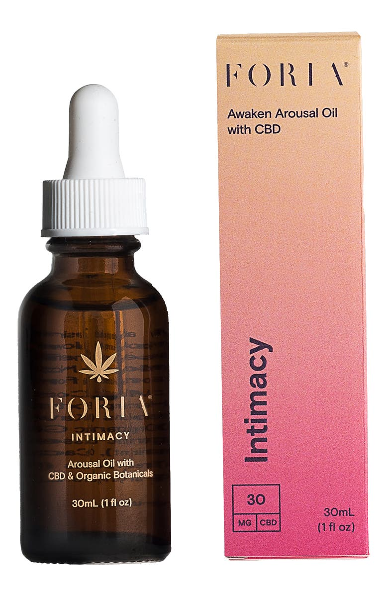 FORIA Awaken Arousal Oil with CBD, Main, color, No Color
