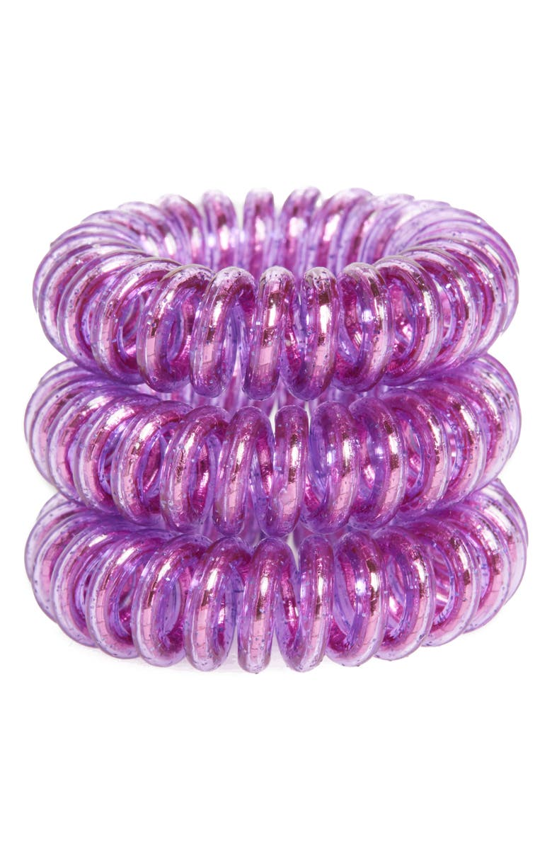 INVISIBOBBLE Set of 3 Hair Ties, Main, color, MEOW AND CIAO