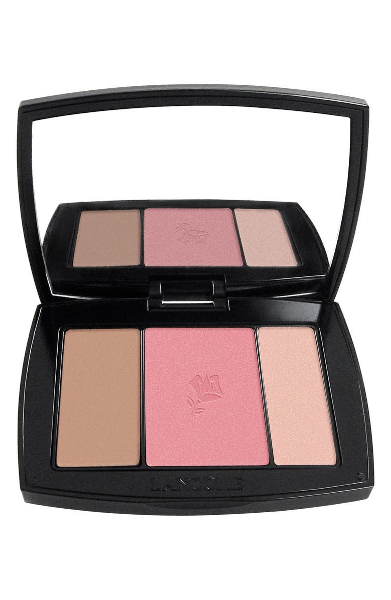 LANCÔME Blush Subtil All-In-One Contour, Blush & Highlighter Palette, Main, color, NEW NUDE