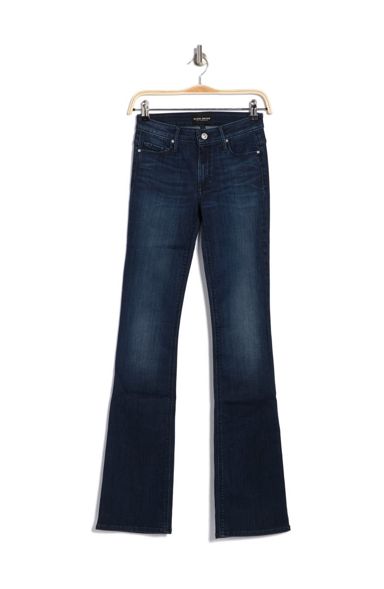 BLACK ORCHID India Slim Bootcut Jeans, Main, color, WANDERER