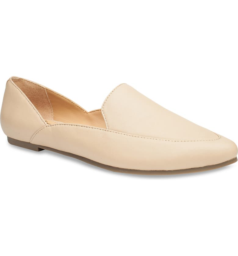 ME TOO Arina Loafer, Main, color, LIGHT NUDE LEATHER