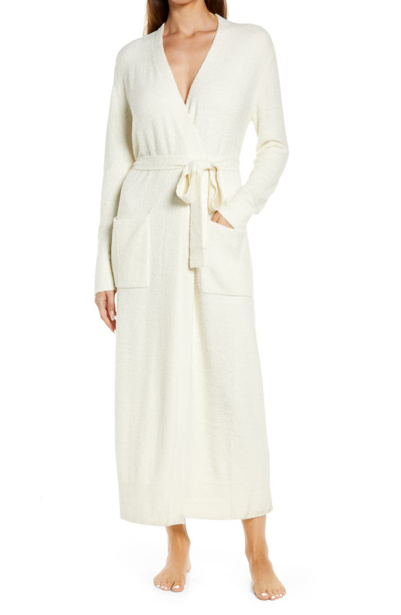 BAREFOOT DREAMS<SUP>®</SUP> CozyChic Ultra Lite<sup>™</sup> Long Robe, Main, color, CREAM