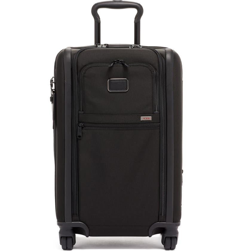 TUMI Alpha 3 Collection 22-Inch International Expandable Carry-On, Main, color, BLACK