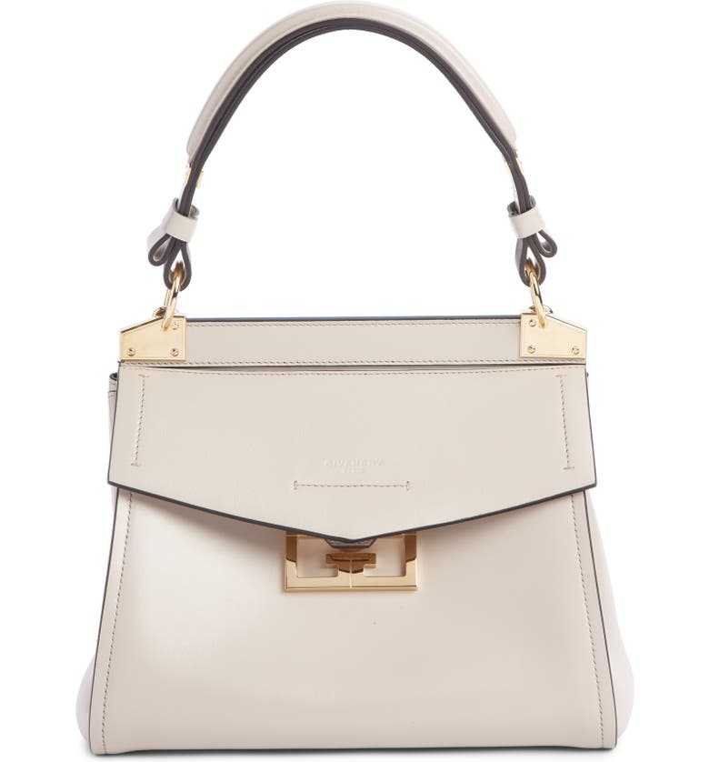 GIVENCHY Small Mystic Leather Satchel, Main, color, 250