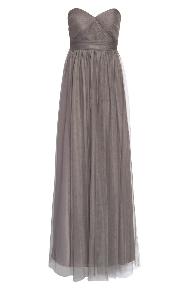 JENNY YOO Annabelle Convertible Tulle Column Dress, Main, color, 020